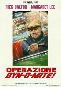 ONCE-UPON-A-TIME-IN-HOLLYWOOD-RICK-DALTON-OPERAZIONE-DYN-O-MITE-Poster-24x36inch