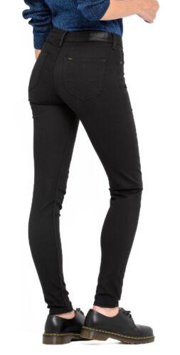 Maigre Femmes Rinse Jeans Scarlett Foncé Pour Extensible Lee Noir Jambe xqZPwXvw