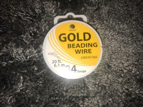 20/'//6.1m Gold 24-Gauge Wire