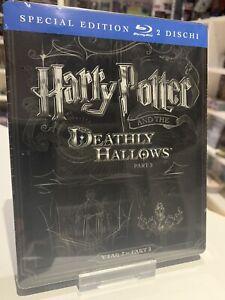 harry potter und die heiligtümer des todes 2 blu-ray steelbook prägung ovp | ebay