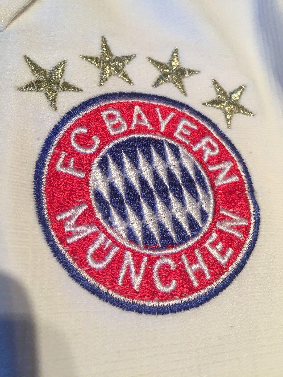 "FC Bayern München Trikot Trikot Trikot ""19 Götze"" Gr.M mit Patches ORIGINAL 7867c3"