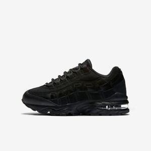 7035d2f5dff Nike Air Max 95 Boys Girls Running Trainer Shoe Size 3.5 - 6 Black ...