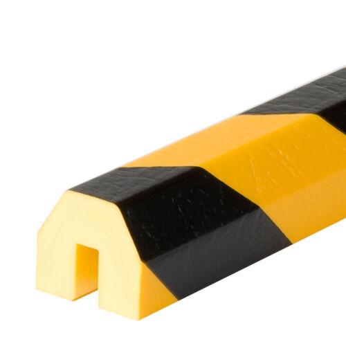 Warn- und Schutzprofil gelb-schwarz Kantenschutz Typ BB
