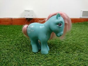 My-Little-Pony-G1-Bow-Tie-Collectors-Pose-Vintage-Toy-Hasbro-1982-MLP