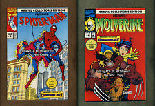 1992 Marvel Collector's Edition 1 NM- Spider-Man Wolverine Charleston Chew Promo