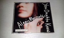 ALANIS MORISSETTE YOU OUGHTA KNOW 4 TRACK CD SINGLE