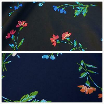 Polycotton Fabric with Ladybirds and Leaves Per Metre 2 Colourways