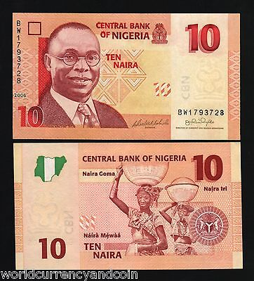 UNC Banknotes brand new a bundle 100pcs Nigeria 5 Naira Plastic paper money