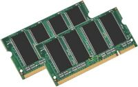 2gb Pc2700 Laptop Ram Memory 1gb X2 Ddr 333 Dell Inspiron 1150 8600 9200 -