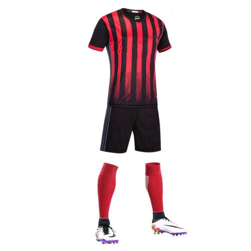 European Mens HOT Football Jersey/&Shorts Training Suit Clothes Set Sportswear
