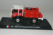 Del Prado Modellauto 1:64 1999 CCFF Renault M 210-12 CAMIVA Feuerwehr