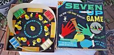 VINTAGE COMPLETE 1961 TRAUCY TRANSOM SEVEN UP BOARD GAME