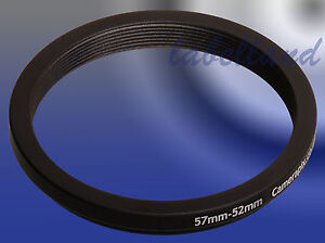 58mm-52mm 58-52 Filter Adaptor Ring Converts 58mm lens thread to 52mm Step-Down