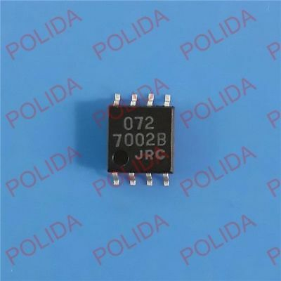 5PCS X NJM072BV 072B JRC SSOP8 Operational Amplifier