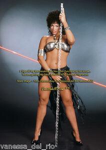 Vanessa-del-Rio-Movie-Memorabilia-039-Futuristic-Warrior-Signed-After-BUY-w-COA