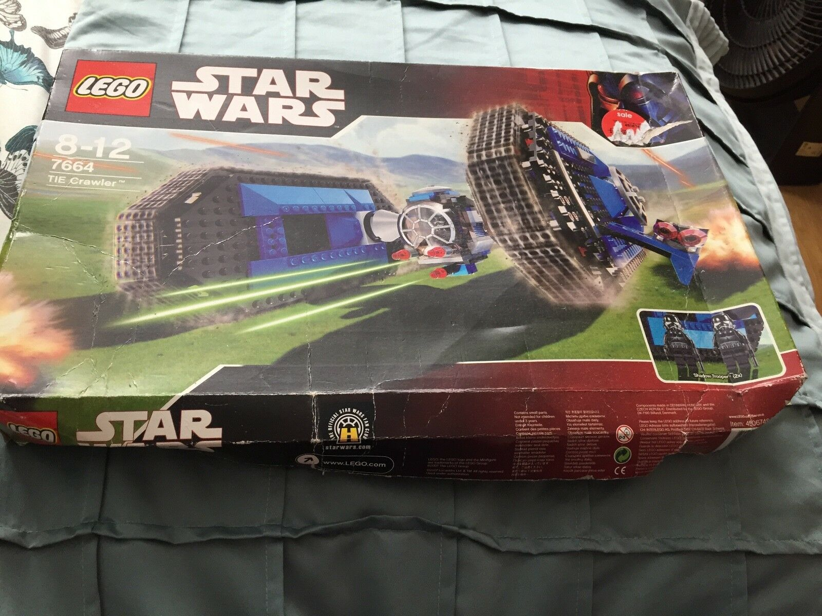Starwsrs Lego CRAWLER NO 7664
