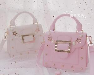 Details About Fashion Sweet Small Fresh Harajuku Star Shoulder Bag Kawaii Messenger
