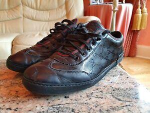 Gucci-Herren-Schuhe-Sneaker-schwarz-UK-9-5-US-10-5-EU-43-5-Original