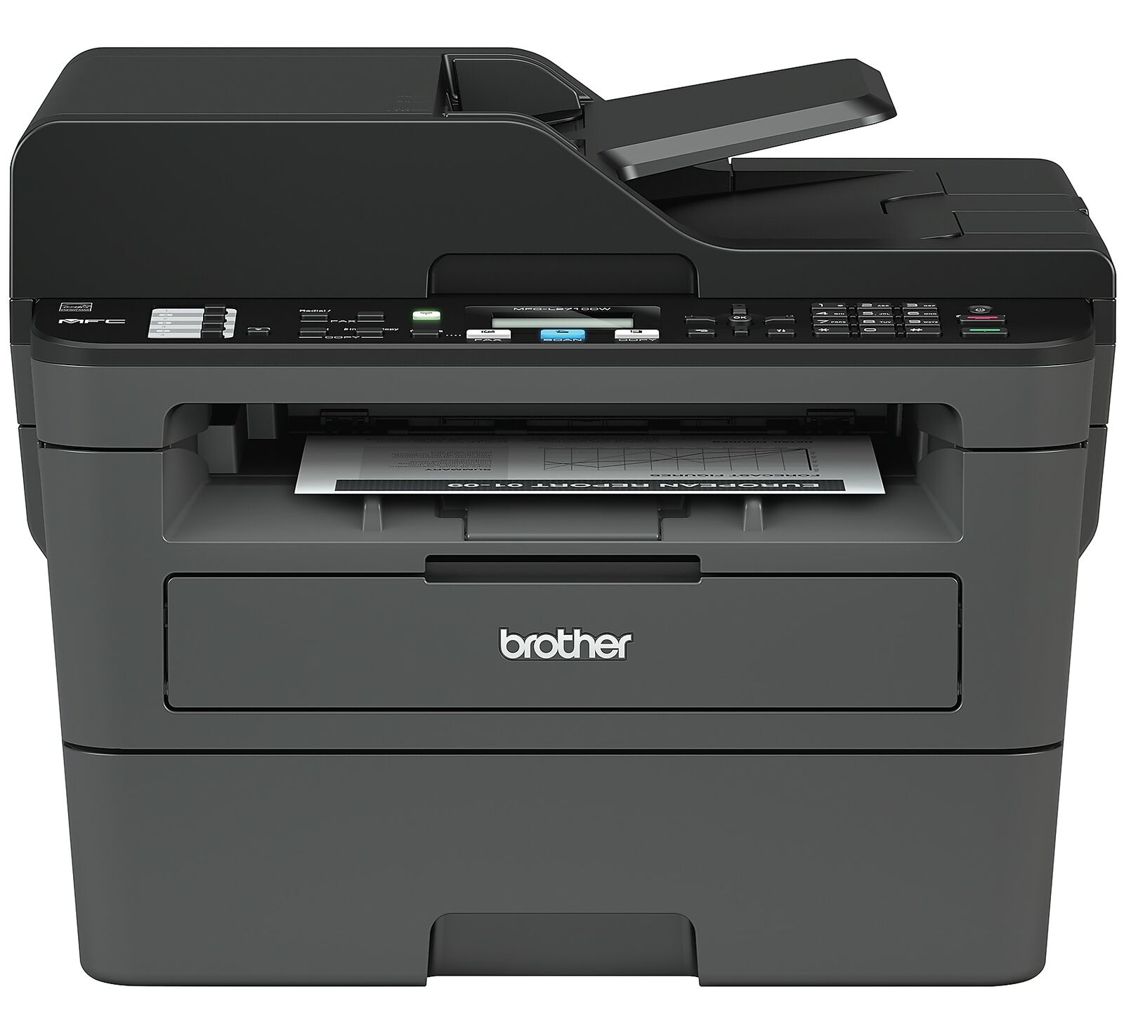 Brother MFC-L2710DW Wireless Monochrome Laser RMFCL2710DW. Buy it now for 189.17