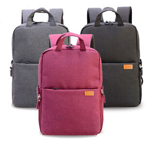 Black Red Camera Backpack Water Resistant Nylon Travel DSLR SLR Accessories Daybag for Olympus E M1 E M5 II E M10