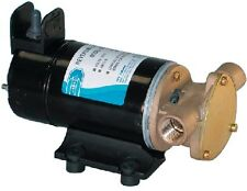 "New Reversible Rotary Vane Pump jabsco 18680-1000 5 GPM Ports 1/2"" NPT Int./1"" E"