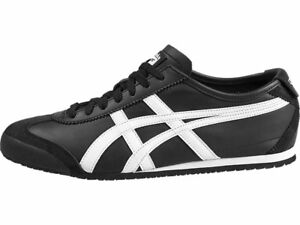 newest abfc2 bec45 Details about Onitsuka Tiger Unisex Mexico 66 Shoes NEW AUTHENTIC  Black/White DL408-9001