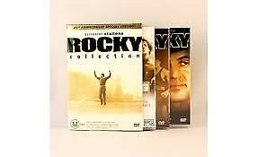 1 of 1 - Rocky 25th Anniversary Collection*DVD 5-Discs*Terrific Condition
