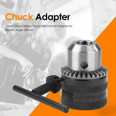 10mm Chuck Holder Power Drill Convert Adapter for Electric Angle Grinder