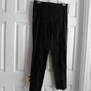 44 Trussardi da Italy donna taglia 8 cotone Pantaloni Nwot Made neri misto In BSYdxwpqq