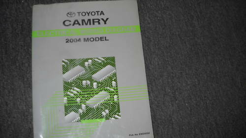 2004 Toyota Camry Electrical Wiring Diagram Service Shop