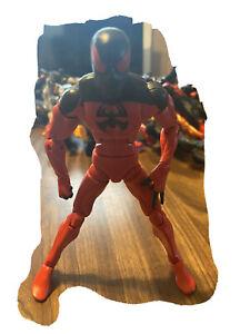 Marvel Legends Spider-Man: Scarlet Spider Action Figure Loose Kaine