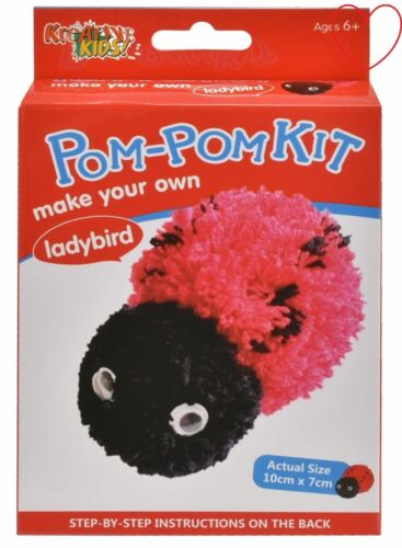 Make Your Own Pom Pom Kit Kids Craft Set Creative Activity
