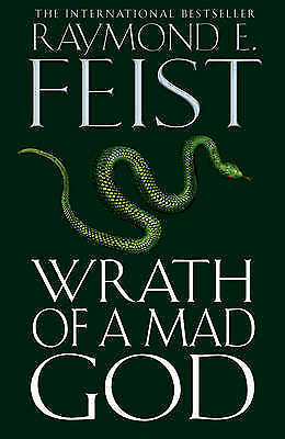 1 of 1 - Wrath of a Mad God by Raymond E. Feist (Hardback) New Book