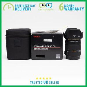 MINT-Sigma-17-50mm-f-2-8-EX-DC-OS-HSM-Zoom-Objektiv-fuer-Nikon-6-Monate-Gewaehrleistung