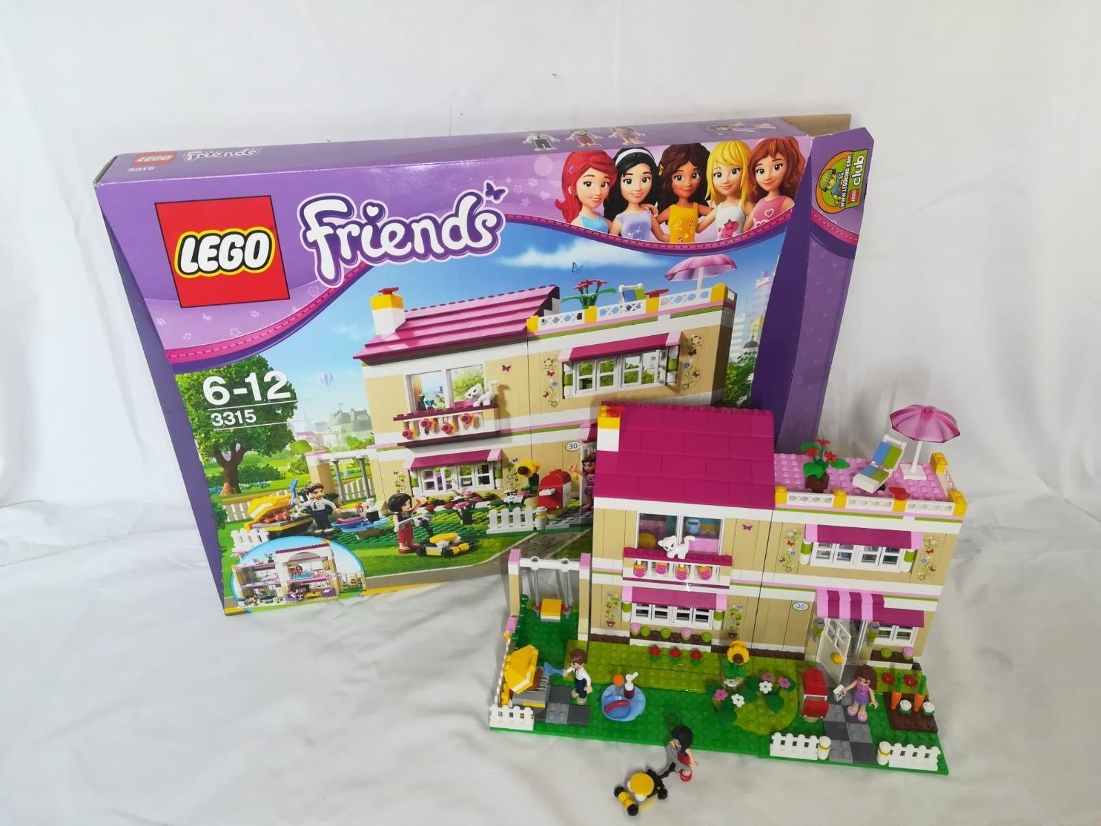 LEGO Friends Traumhaus (3315) in OVP mit Anleitung kompl. wenig bespielt