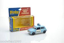 DINKY 255 POLICE MINI CLUBMAN
