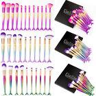 12Pcs Unicorn Kabuki Mermaid Makeup Brush Set Cosmetic Foundation Brushes Kabuki