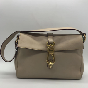 Dooney & Bourke Tan Leather Shoulder Bag