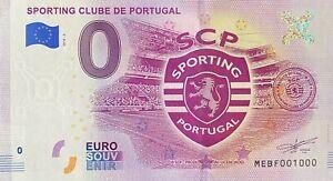 BILLET-0-EURO-SPORTING-CLUBE-DE-PORTUGAL-2018-NUMERO-1000