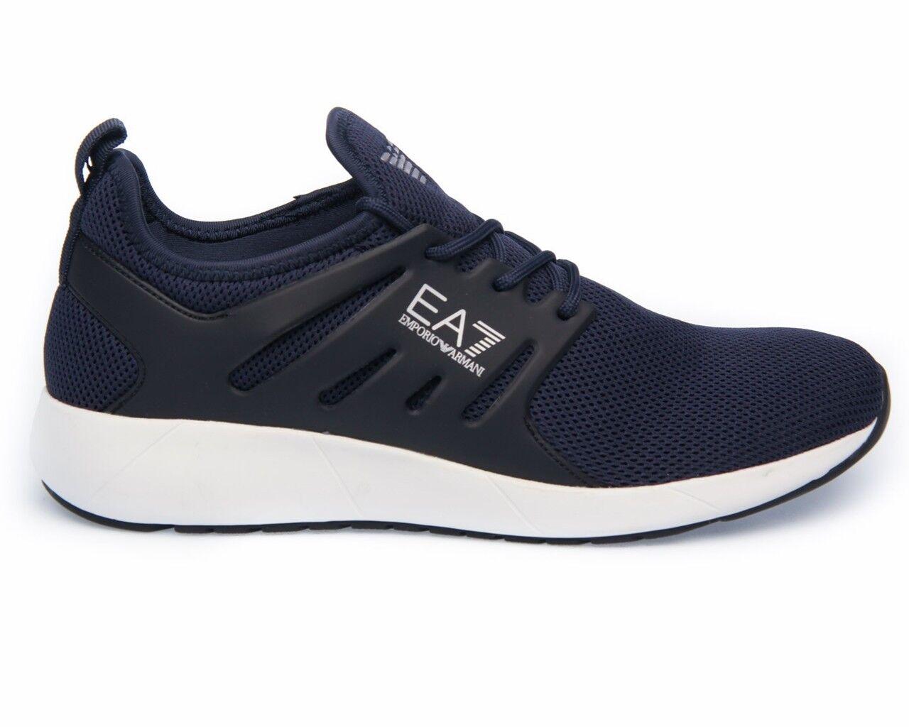 Emporio Armani Sneakers Minimal Running Trainers U EA7 Herren  Herren EA7 Trainers e19644