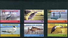 Papua New Guinea 2005 MNH Sea Birds 6v Set Egrets Herons Godwit Terns Stamps