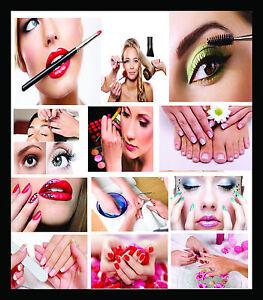 Image Is Loading A4 Size Salon Beauty Make Up Spa Barber