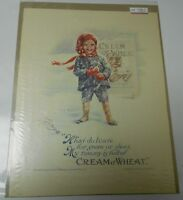 1919 CREAM OF WHEAT Winter Ad Clipping Full Page 10x13