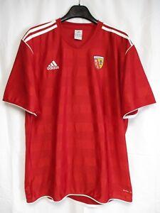 Maillot-R-C-LENS-training-ADIDAS-football-shirt-trikot-entrainement-jersey-XXL