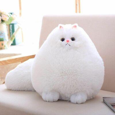 Actief Winsterch E Fluffy Kids Soft Plush Animal Toy Cat Stuffed Animal Toy Baby Doll