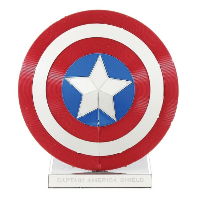 Metal Earth - 3D Metal Model Kit - Avengers - Captain America's Shield