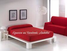 Colchas/Foulard/Harapa multiusos baratos, económicas para sofa o cama color liso
