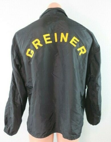 VTG 1950's GREINER Athletic Nylon Windbreaker Jack