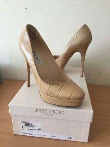 Fab Cosmic Choo Mock Uk Croc 5 Nude 38 Jimmy 7p8vqq