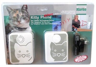 Kitty Phone mit Senderhalsband Katzenklingel Meldesystem NEU!!!